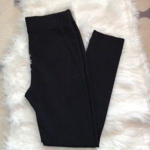 Anthropologie Pure & Good NWOT black legging